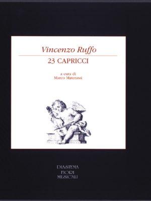 Vincenzo Ruffo - 23 Capricci in musica a tre voci (1564)