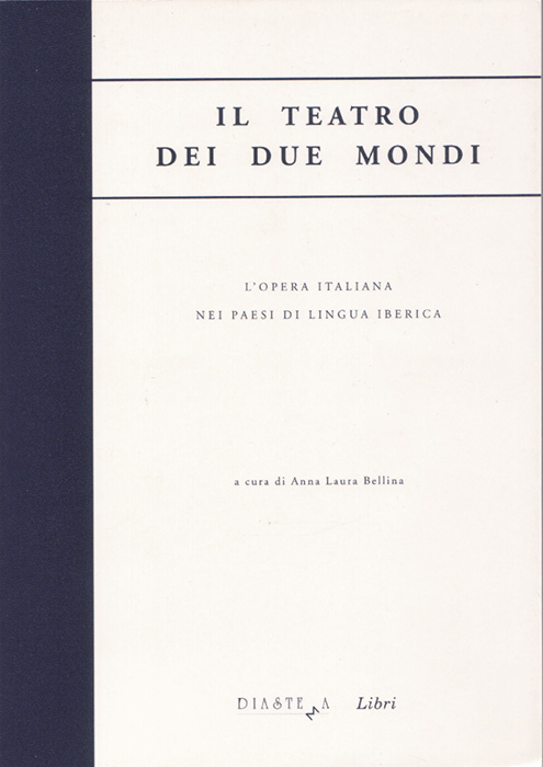 "<p><strong><span style=""color: #000;"">AA.VV.<strong><span style=""color: #b21827;""><br>Il teatro dei due mondi<br>L'opera italiana nei paesi di lingua iberica</p></span></strong><span style=""color: #000;"">a cura di Anna Laura Bellina</strong></span><br>"