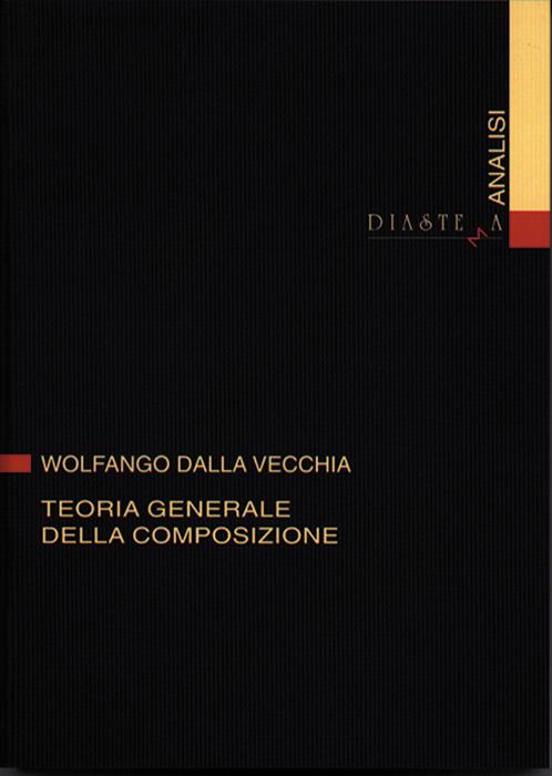 """<strong><span style=""""color: #000000;"""">Wolfango Dalla Vecchia<br><span style=""""color: #b10f26;"""">Teoria generale della composizione</strong></p>"""