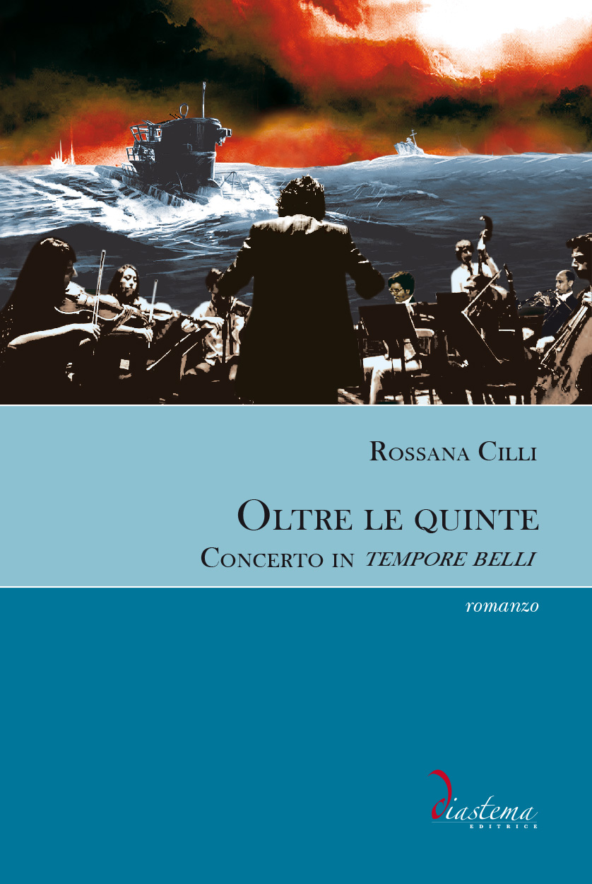 """<p><strong><span style=""""color: #000000;"""">Rossana Cilli<stronsg><span style=""""color: #b21827;""""><br>Oltre le quinte</p></span>Concerto in tempore belli"""